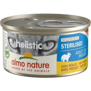 Almo Nature Holistic Sterilised Adult Cat Mousse per Gatti