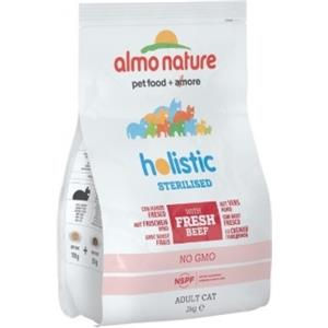 Almo Nature Holistic Sterilised Cat Dry Manzo e Riso