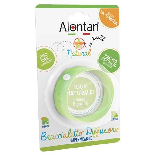 Alontan Natural Braccialetto Diffusore
