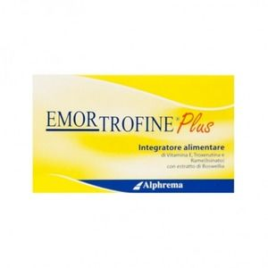 Alphrema Emortrofine Plus 40compresse