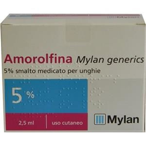 Mylan Amorolfina smalto 2,5ml 5%
