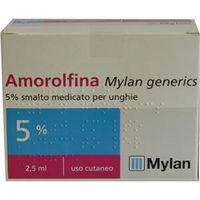 Mylan Amorolfina 5% smalto medicato 2.5ml