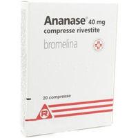 Meda Pharma Ananase 40mg 20 compresse rivestite