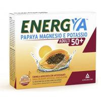 Angelini Energya Papaya Magnesio e Potassio Adulti 50+ 14bustine