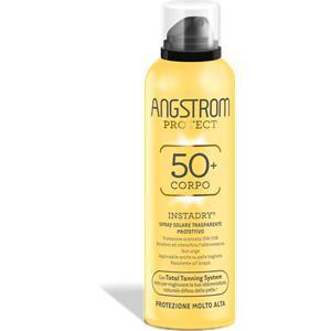 Angstrom Instadry corpo 50+ spray solare