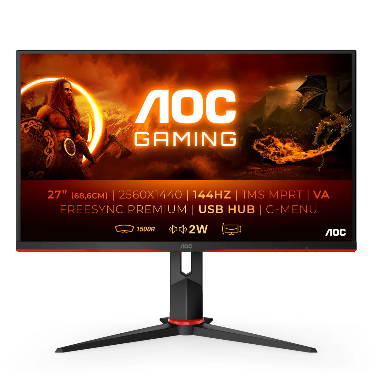 AOC Gaming CQ27G2U
