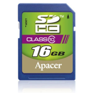 Apacer SDHC 16 GB Class 10