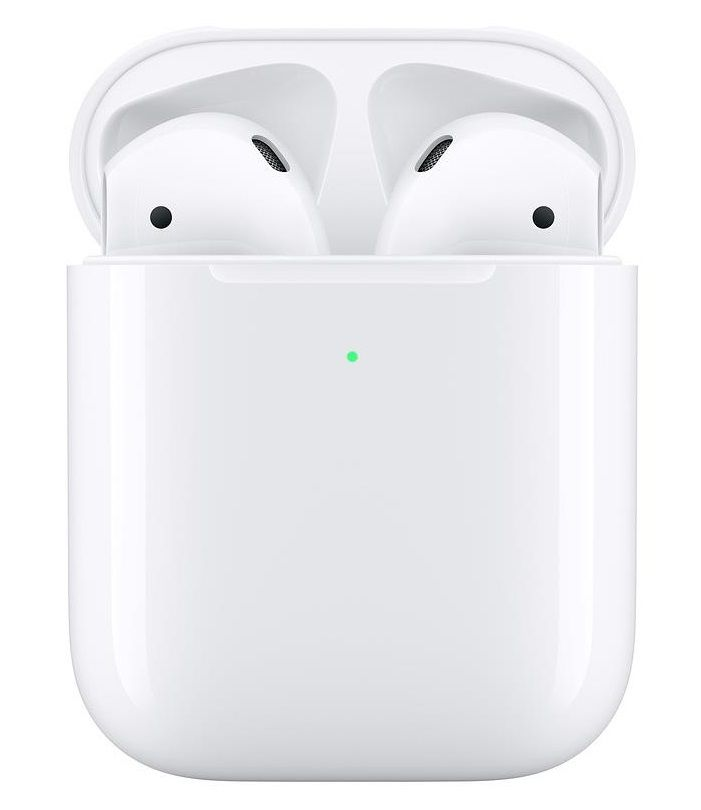 Apple AirPods (seconda generazione) Con custodia di ricarica wireless