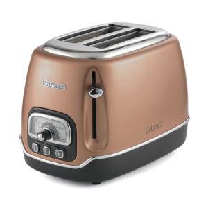 s 2 Slice Team Kalorik Efbe-Schott TKG TO 1050 CO 2slice 950W Toaster-Toasters Rame//Cromato , Orange, Stainless Steel, Buttons, Rotary, 950 W Acciaio Inossidabile s