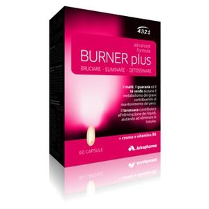 Arkopharma 4321 Slim Burner Plus 60capsule