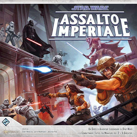 Asmodée Star Wars: Assalto Imperiale