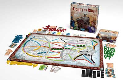 Asmodée Ticket to ride