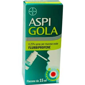 Bayer Aspi gola spray 15ml 0,25%