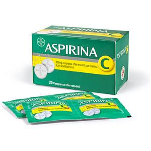 Bayer Aspirina C 20 compresse effervescenti 400+240mg