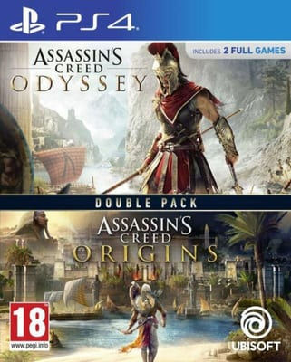 Ubisoft Assassin's Creed Odyssey + Origins PS4
