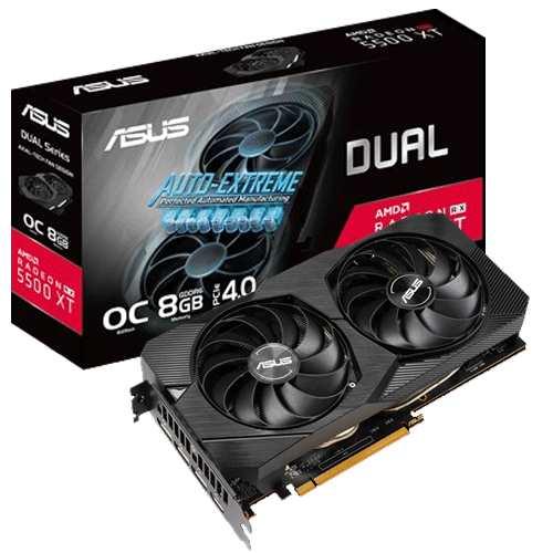 Asus Dual Radeon RX 5500 XT OC 8GB