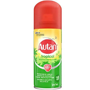 Autan Tropical Spray Secca 100ml