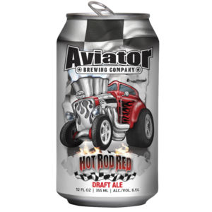 Aviator Hot Rod Red