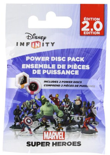 Bandai Namco Marvel Super Heroes (2.0 Edition) Power Disc Pack