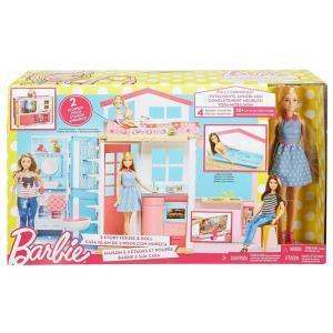 Barbie Casa 2 Storie con Bambola