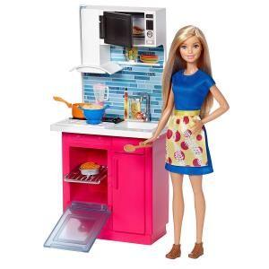 Barbie la cucina di barbie a 3,99 € | il prezzo più basso su ...