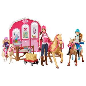 Barbie Pink Passport con Cavalli