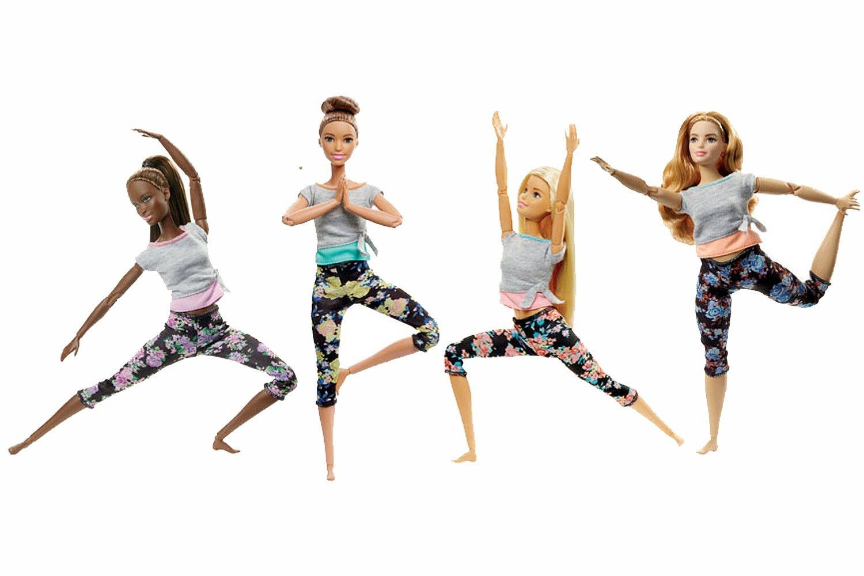Barbie Snodata con Abiti da Yoga