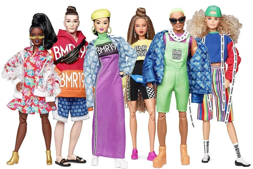 Barbie Snodata Look Sportivo