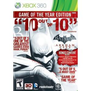 Warner Bros. Batman: Arkham City (Game of the Year Edition)