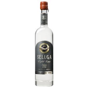 Beluga vodka gold line