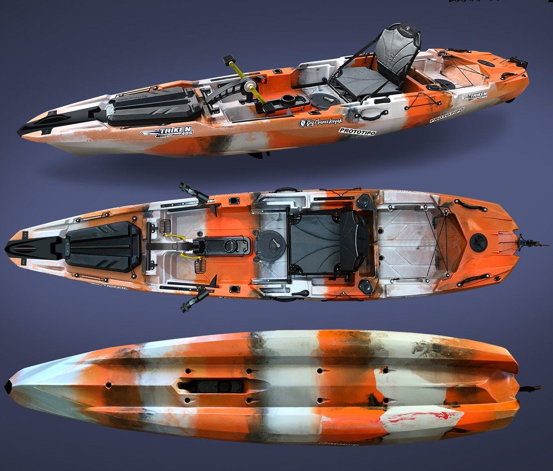 Big Mama Kayak Triken 405
