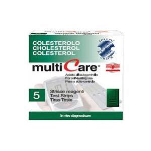 Biochemical Colesterolo Multicare 5 strisce
