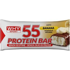 Biovita WhY Sport 55 Protein Bar Banana