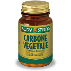 Body Spring Carbone Vegetale 50capsule