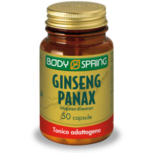 Body Spring Ginseng Panax 50capsule