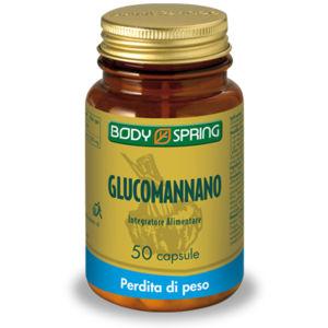 Body spring glucomannano plus 50capsule
