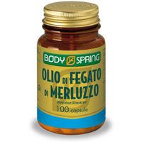 Body Spring Olio Fegato di Merluzzo 100capsule