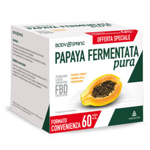 Body spring papaya fermentata pura 60bustine