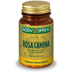 Body Spring Rosa Canina 50compresse