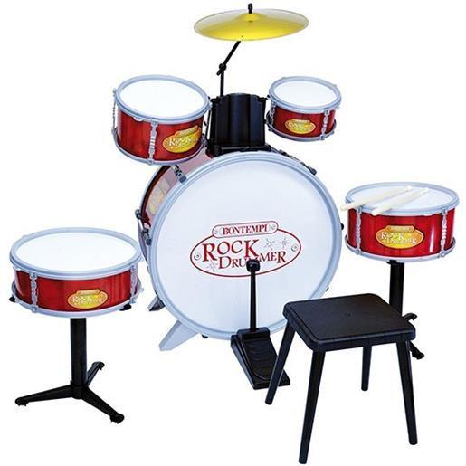 Bontempi Drum Set batteria 6 elementi