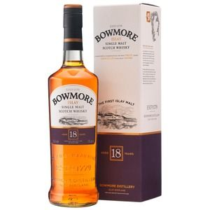 Bowmore Scotch 18 years old