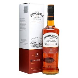 Bowmore Scotch Darkest 15 years old