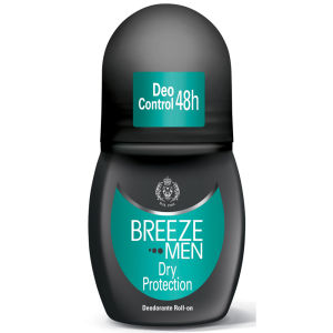 Breeze Men Dry Protection Deodorante Roll On 50ml
