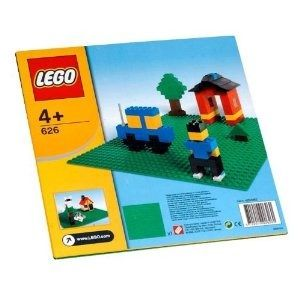 Lego Bricks and More 626 Base verde