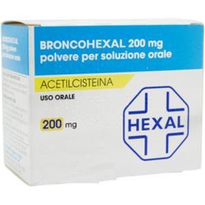 Sandoz Broncohexal 30 bustine 200mg