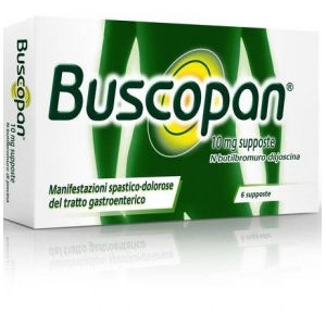 Sanofi Buscopan 6 supposte 10mg