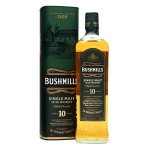 Bushmills Irish Whiskey Single Malt 10 anni