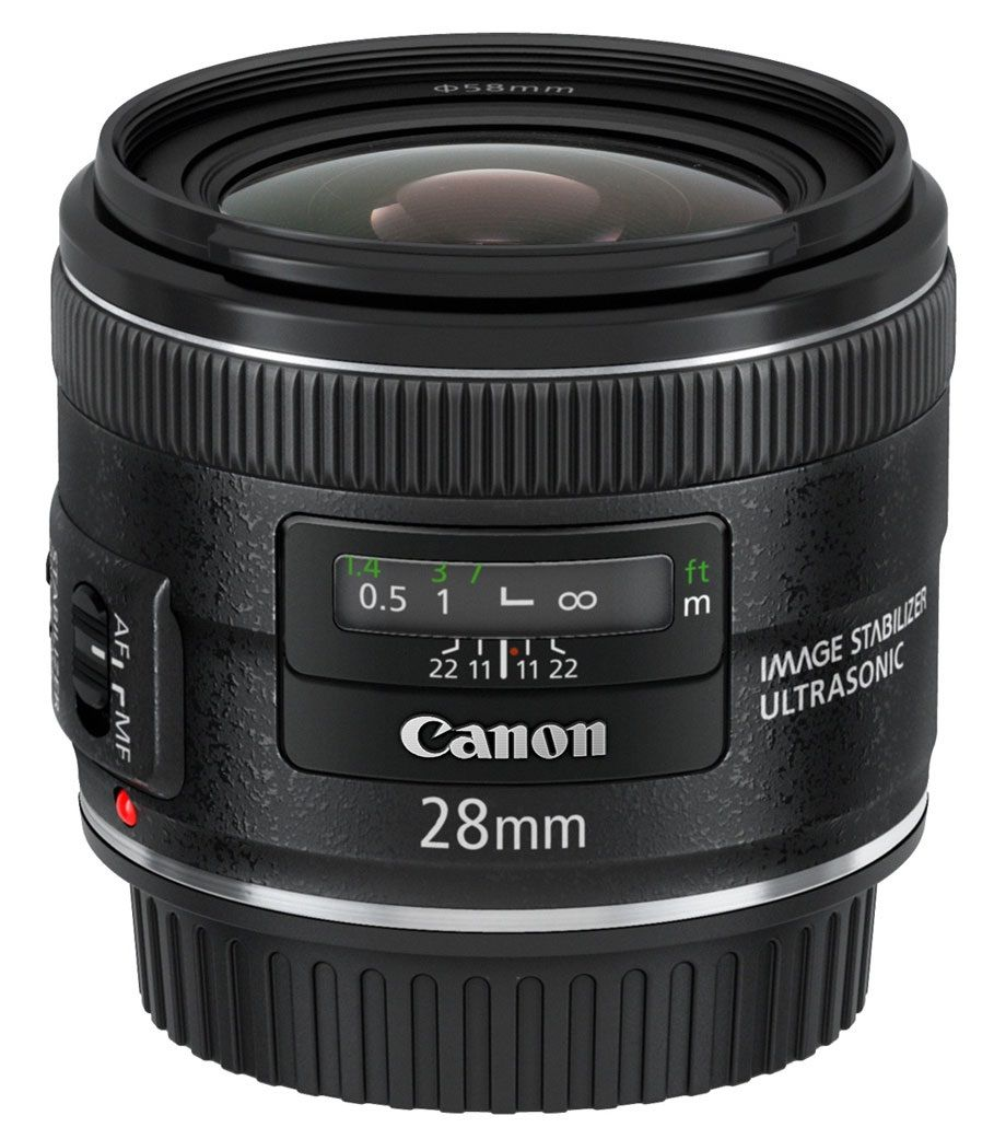 Canon EF 28mm f/2.8 IS USM - Canon EF