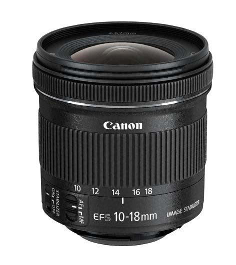 Canon EF-S 10-18mm f/4.5-5.6 IS STM - Canon EF-S
