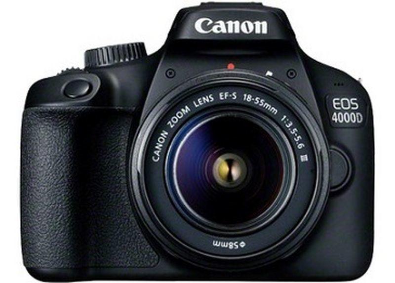 Canon EOS 4000D + 18-55